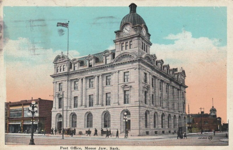 MOOSE JAW , Saskatchewan, Canada, 1924; Post Office