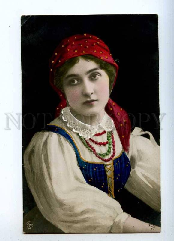 233858 CAVALIERI Italian OPERA singer POLAD BELLE tinted PHOTO