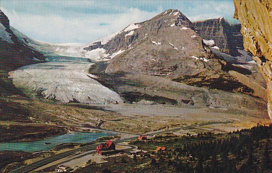 Canada Alberta Jasper Athabaska Glacier