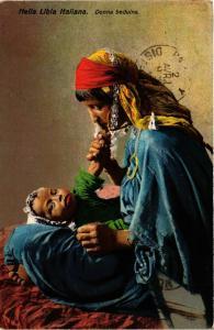 CPA Lehnert & Landrock Nella Libia Italiana – Donna Beduina TUNISIE (856013)