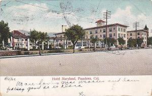 Street view, Hotel Maryland, Pasadena, California, 00-10s
