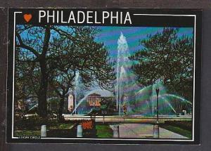 Logan Circle Philadelphia PA Postcard BIN