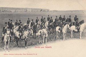Turkey , 1900-10s ; Parade pour Selamik