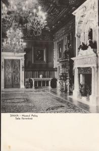 Romania Sinaia Peles castle interior florentine room