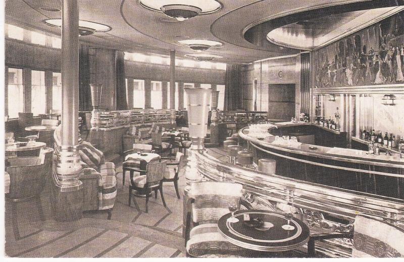 Nostalgia Postcard Collectors Club The Queen Mary