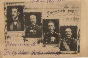 Arctic North Pole Expedition, Duke Abruzzi, Cagni, Querini and Giordano (1900)