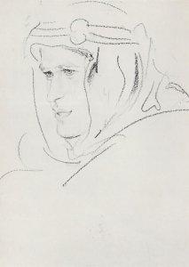 Thomas Edward Lawrence National Portrait Gallery Postcard