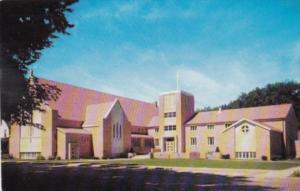 Iowa Mount Pleasant First Methodist Church 1957