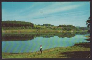 Oneida Dam,Butler,PA Postcard BIN