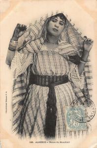 Algerie Danse du Mouchoir Woman Ethnic Africa Postcard