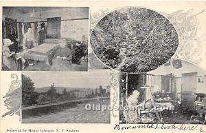 Shaker Scenes Mount Lebanon, NY USA 1905