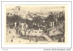 Tetuan (marruecos).- Plaza Espana, 00-10s