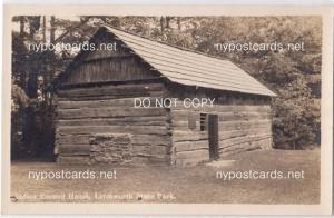RPPC, Indian Council House, Letchworth State Park