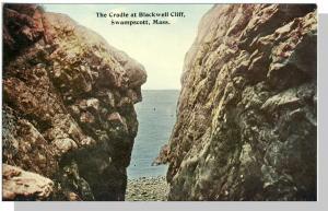 Swampscott, Mass/MA Postcard, Cradle at Blackwell Cliff
