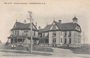 Victoria Hospital - Fredericton NB, New Brunswick, Canada - pm 1906