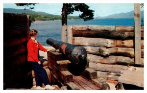 12459   NY Lake George Fort William Henry  Canon