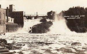 RP: NIAGARA , Wis. , 1942 ; Below the Dam
