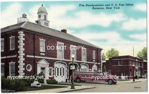 Fire Headquarters & Post Office, Kenmore NY