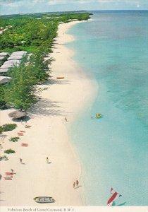 Beach , Grand Caymand , B.W.I. , PU-1977