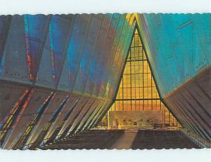 Unused Pre-1980 CHURCH SCENE Colorado Springs CO p3004