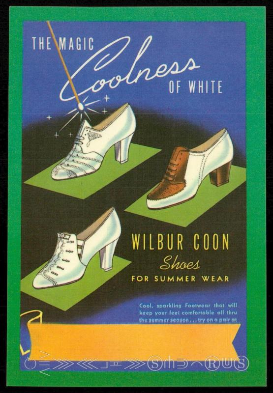 The Magic Coolness of White - Wilbur Coon Shoes