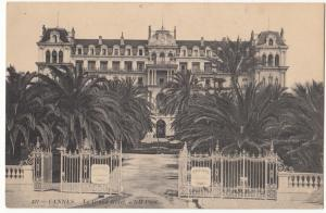 France, CANNES, Le Grand Hotel, unused Postcard
