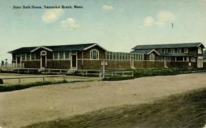 MA - Nantasket Beach. State Bath House