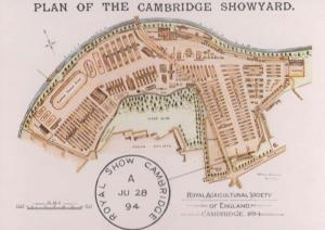 The Royal Cambridge Show Showyard Postcard