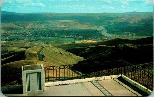 Lewiston Collina Si Affacciano Lewiston Idaho Id Unp 1960s Cromo Cartolina
