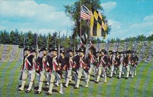 First Maryland Regiment Official Headquarters Fort Frederick Maryland