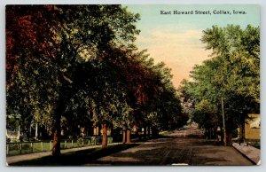 Colfax Iowa~East Howard Street Homes~Residential Neighborhood~c1910 Postcard