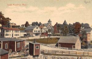 South Royalston Massachusetts Street Scene Antique Postcard K63143