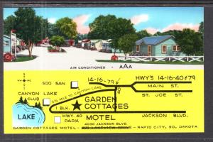 Garden Cottages Motel,Rapid City,SD