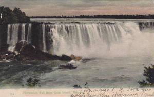 Horseshoe Fall from Goat Island, Niagara,  New York, PU-1906