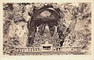 PORTLAND OREGON~THE GROTTO-SANCTUARY OF OUR SORROWFUL MOTHER-REAL PHOTO POSTCARD