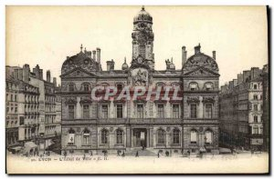 Old Postcard The City of Lyon Hotel