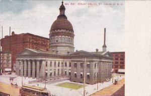 Missouri Saint Louis Court House 1907