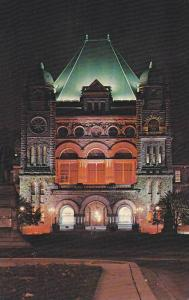 Parliament Bldg , Toronto , Ontario, Canada , 40-60s