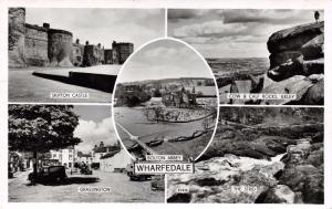 Vintage 1960 REAL PHOTO Postcard Wharfedale Multiview #W