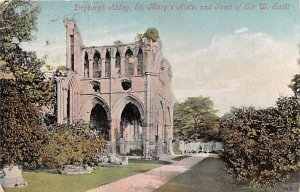 Dryburgh Abbey, St Mary's Aisle and Tomb of Sir W Scott United Kingdom, Great...