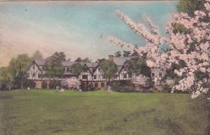 North Carolina Greensboro Sedgefield Inn Handcolored Albertype