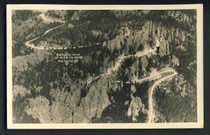 South Dakota/SD Postcard, Birdseye View of Needles Road