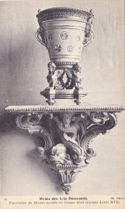 Musee Des Arts Decoratifs, Porcelaine De Sevres Montee En Bronze Dore (Epoque...