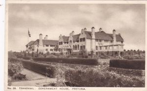 Transvaal: Government House, Pretoria, South Africa, 00-10s