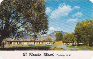 Canada British Columbia Penticton El Rancho Motel