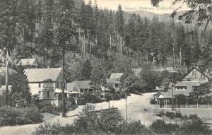 SHASTA RETREAT California Cottages c1910s RH Hanscom Vintage Postcard