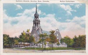 Street view, Catholic Church, Granby,  Quebec,  Canada, 00-10s