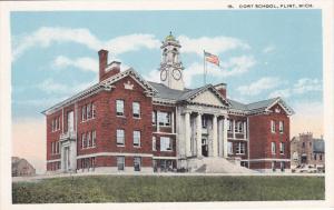 FLINT, Michigan, 1900-1910's; Dort School
