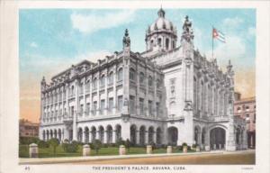 Cuba Havana The President's Palace Curteich