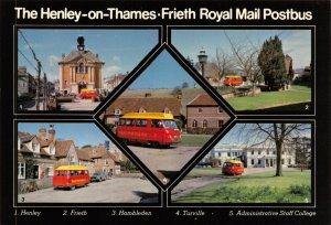 Postcard 1978 FDI Henley On Thames to Frieth Royal Mail Postbus Dodge MINT 39X